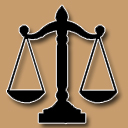 Graphic of the scales of justice