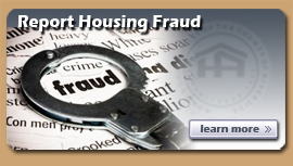 Report Housing Fraud